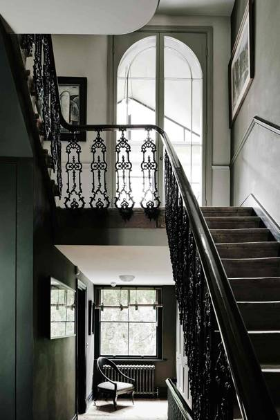 Staircase - London Terrace Restoration
