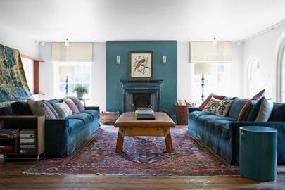 Blue Living Room Ideas | Blue paint ideas for living rooms | House ...