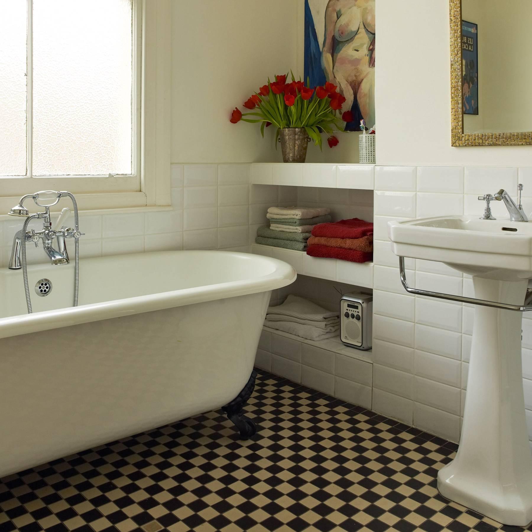 Victorian Ceramic Bathroom Tiles, Victorian Style Bathroom Floor Tiles