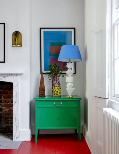 Artist Bridie Halls Victorian House In North London