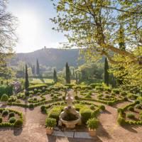 Domaine de la Baume garden