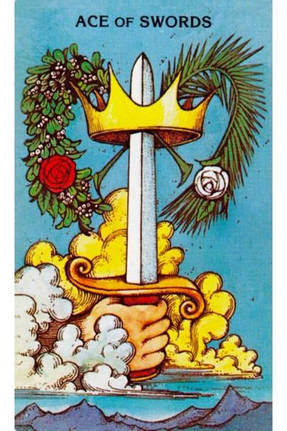 Ace of Swords from The Morgan Greer Tarot