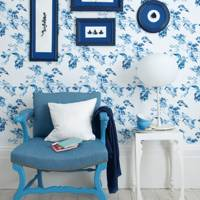 Frame Your Own Blue-Themed Gallery