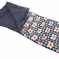 Olive and Orange Sleeping Bag