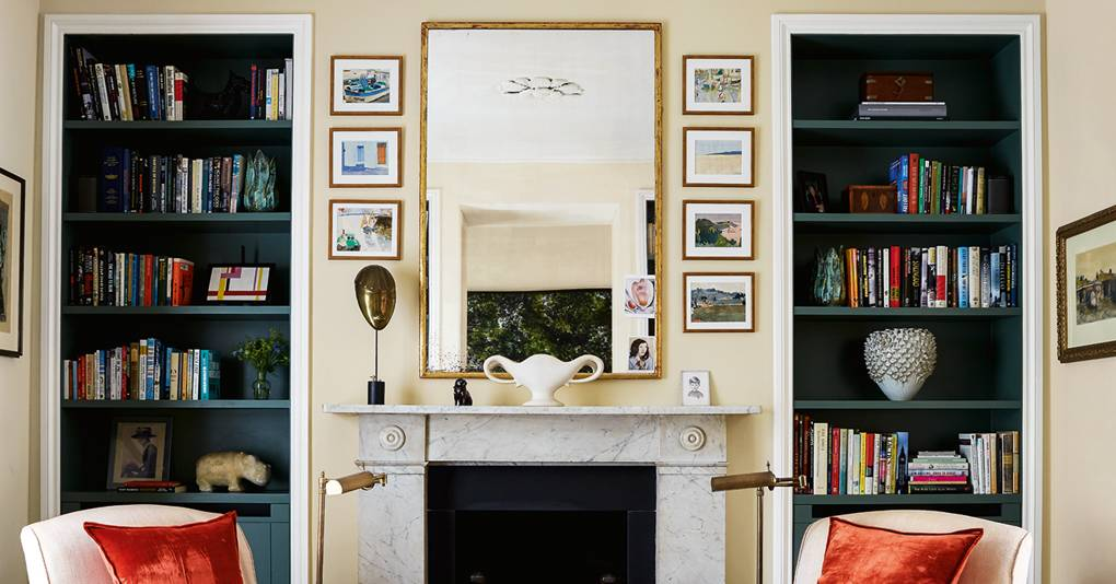 Designer April Russell's relaxed, timeless London house