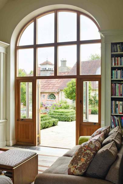 Courtyard Doors - West Country Newbuild Country House