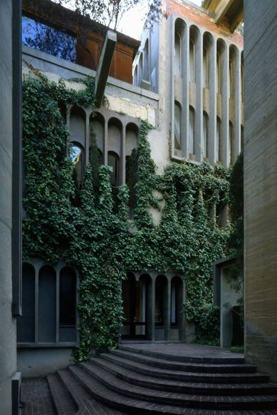 Architect Ricardo Bofill's Spectacular Converted Cement