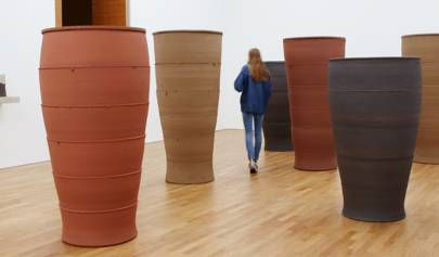 Monumental Jars by Julian Stair, represented by Oxford Ceramics Gallery