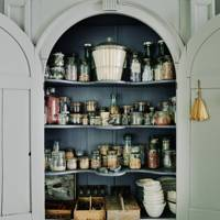 Dining Room Alcove Cupboard - Traditional Bath B&B
