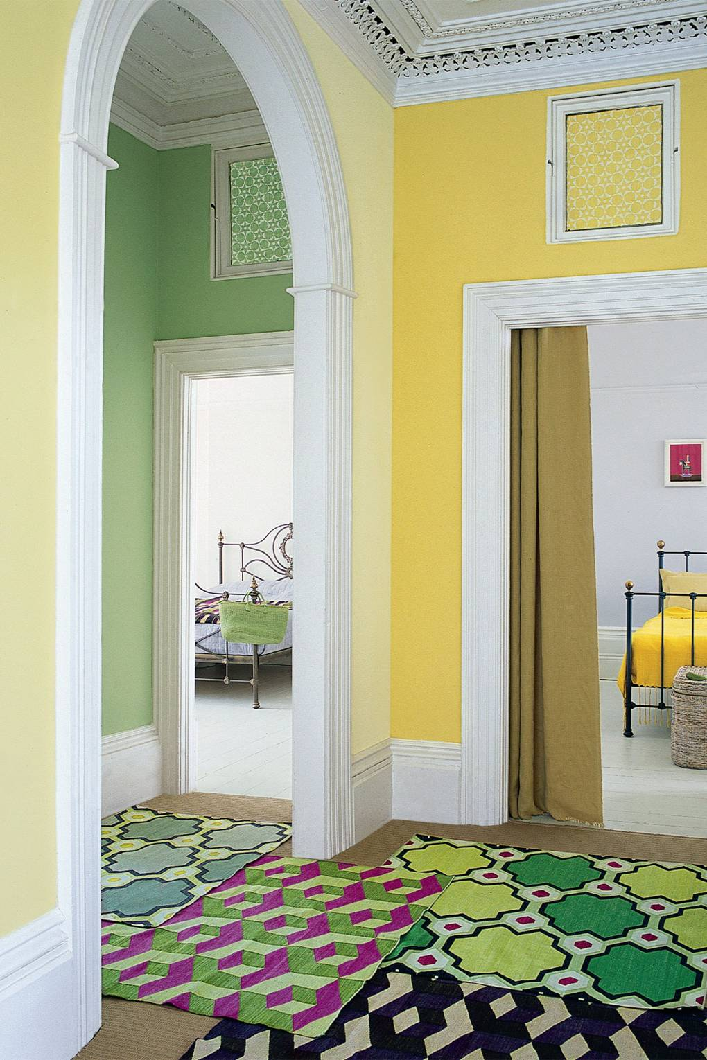 Hallway Colour Ideas | Hallway Paint Colour Schemes | House & Garden