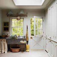 Grey Cupboards - Utility Room Ideas
