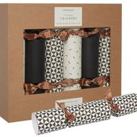 Monochrome and copper crackers by Katie Leamon