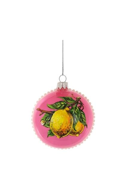 Pink Lemon Bauble from Harrods