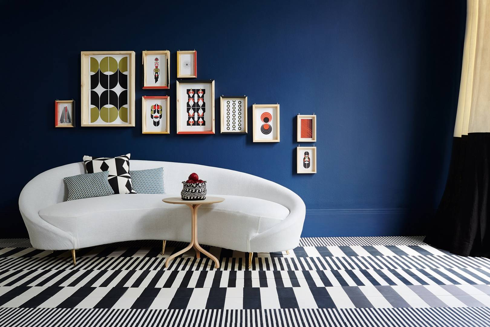 Blue Living Room Ideas Paint For Rooms House Garden