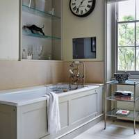 Soft Grey Modern Bathroom