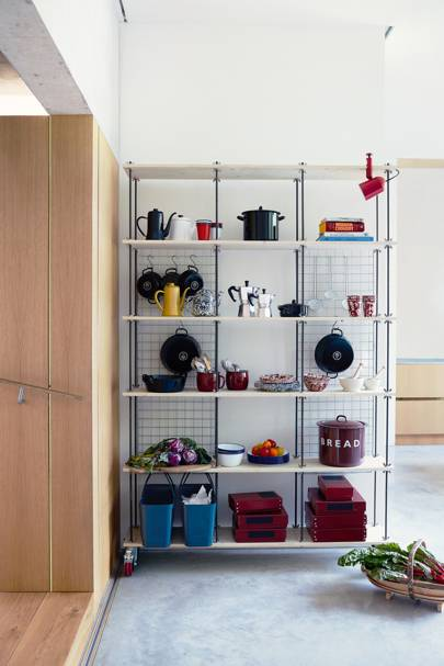 Shelf Help How To Make This Smart Functional Kitchen Shelving Unit