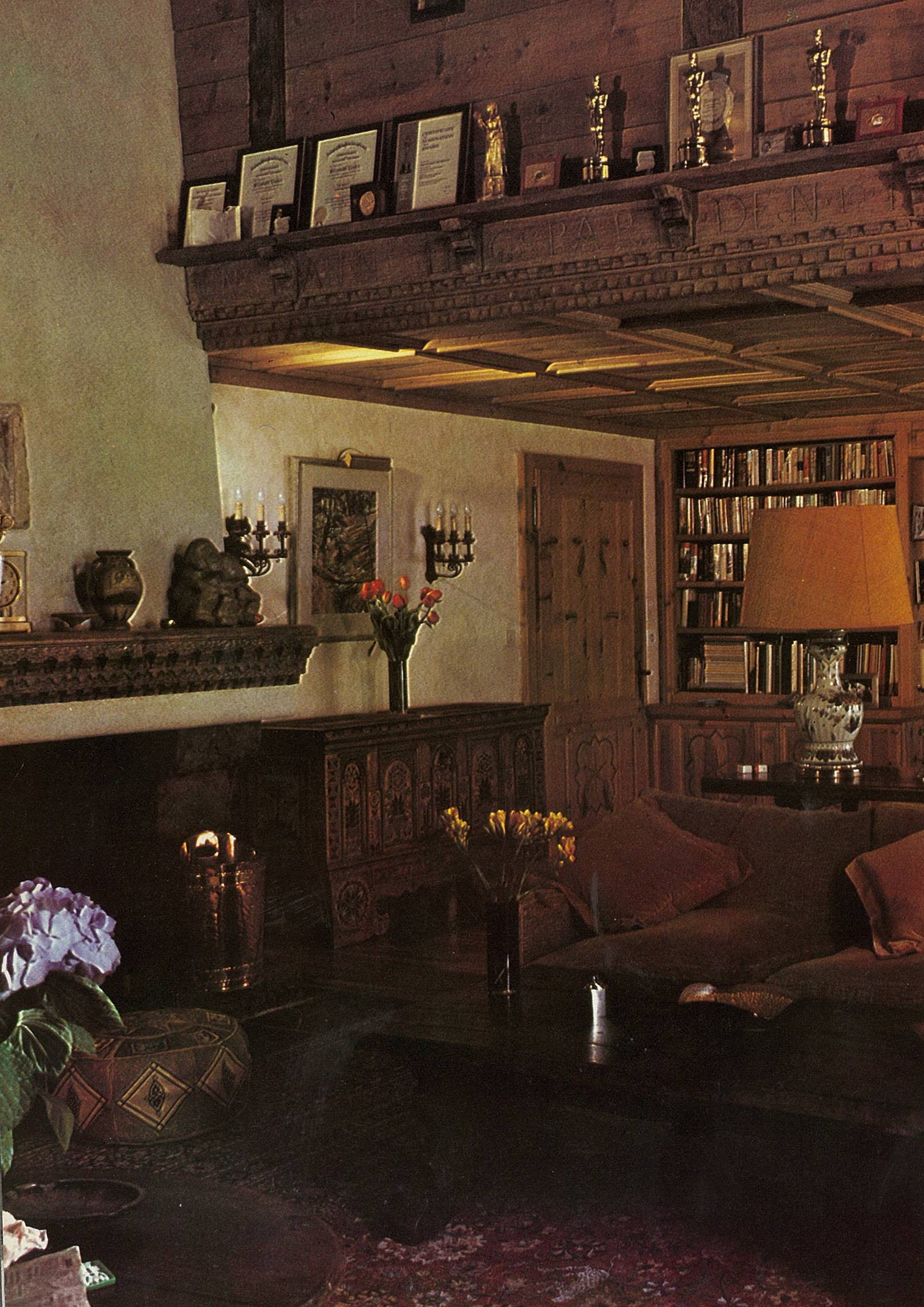 From the archive: Elizabeth Taylor and Richard Burton's chalet in Gstaad (1970)