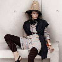 Silk Blouse, Jacket & Leggings