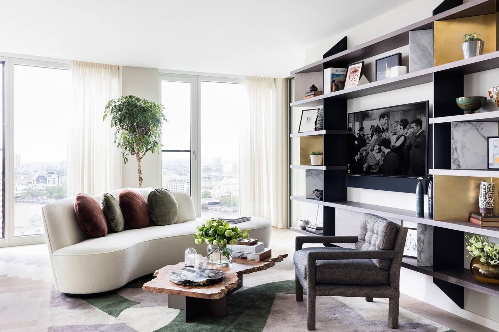 Modern Flat Interior Design Ideas   Colours, furniture, Decoration ...