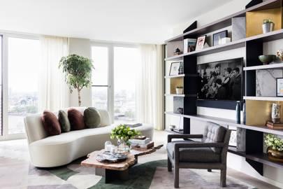 Living Room - Sophie Ashby - Modern Flat