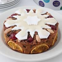 Peyton & Bryne Gluten-Free Christmas Cake