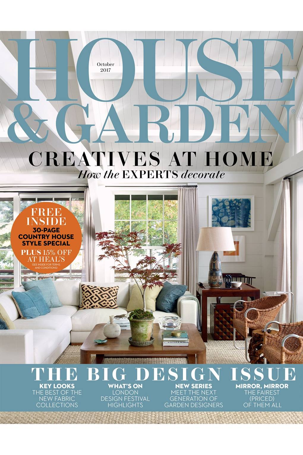 Great Inside The October 2017 Issue Of House U0026 Garden Magazine | House U0026 Garden