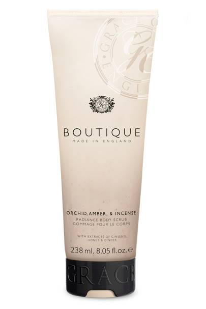 August 16: Boutique Orchid, Amber & Incense Body Scrub, £5