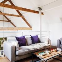 Mezzanine Seating Area - Country Barn Conversion
