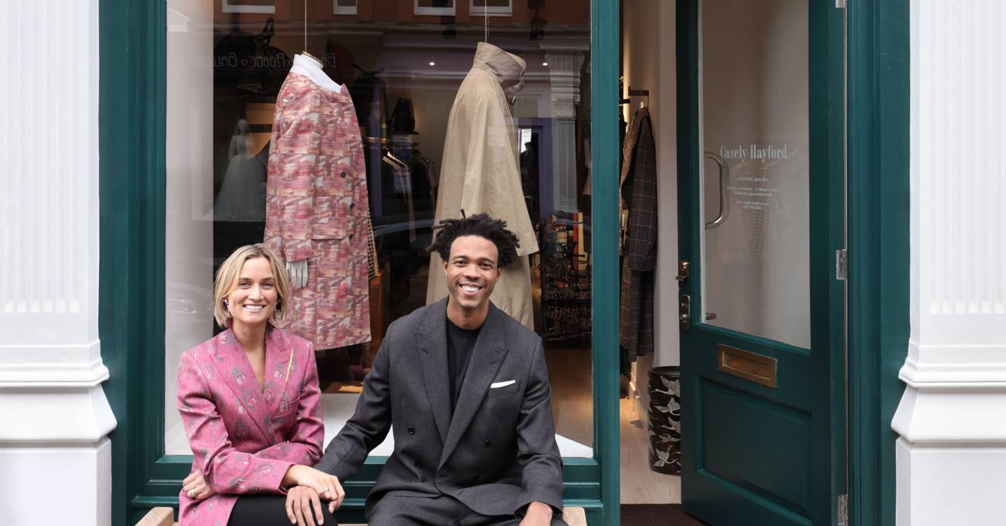 Interior designer Sophie Ashby opens a London concept store with husband Charlie Casely-Hayford