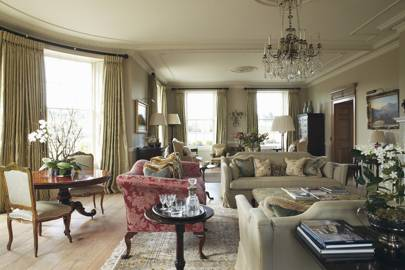 Bath Country House Living Room - Emma Sims Hilditch
