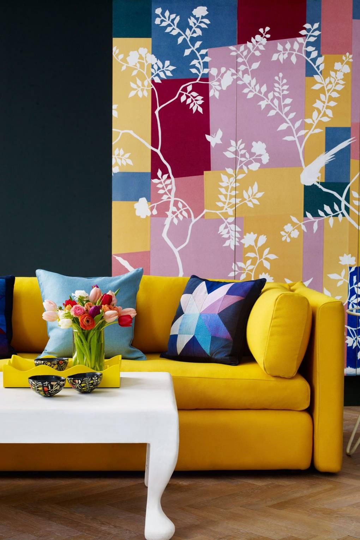 Blue And Yellow Colour Schemes House Garden