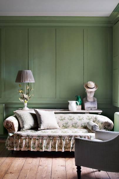 Olive Green - Wall Paint - Wall & Feature Wall Paint Colour Ideas
