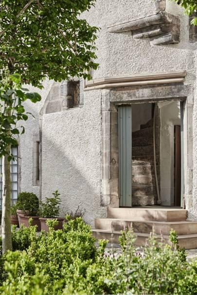 Doorway - Lamb's House in Leith