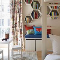 Quirky bookshelving