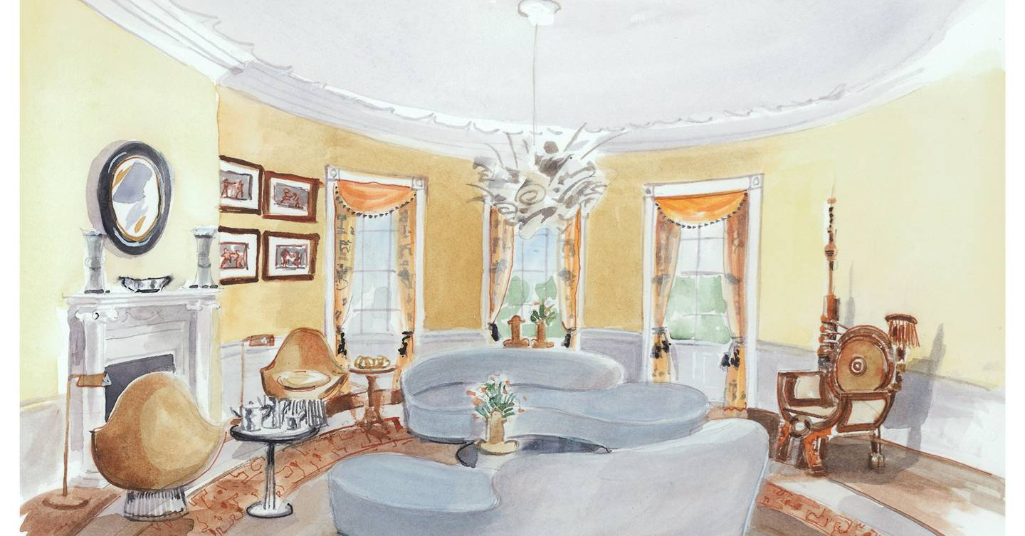 yellow oval room the white house clinton or trump interior designer and architect interior designer and architect near me