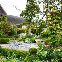 Outdoor Dining Area - Bunny Guinness' Cambridgeshire Garden