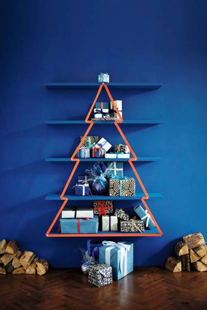 Bookshelf Ribbon Tree