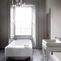 Grey & White Bathroom