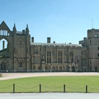 Lord Byron's home, Newstead Abbey, Nottinghamshire, England