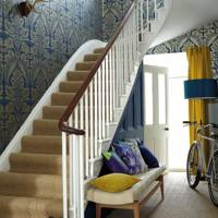 Traditional Wallpaper, Modern Touch