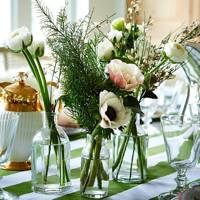 Flowers & Foliage for Christmas Table