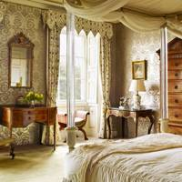 The bedroom at Faringdon House