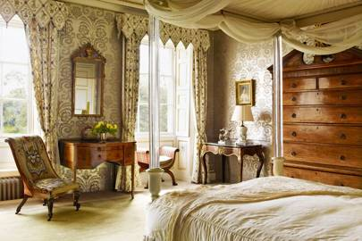 Downton Style Traditional Bedroom