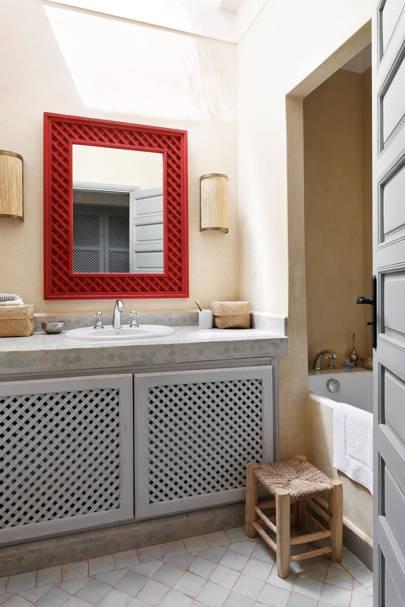 Bathroom - Moroccan House