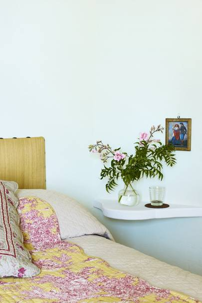 Pastel Bedside - A House in the South of France