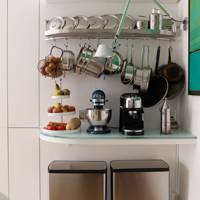 Hooked on small kitchens