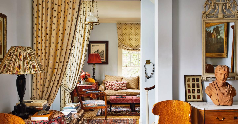 Nathalie Farman-Farma's pattern-filled London house