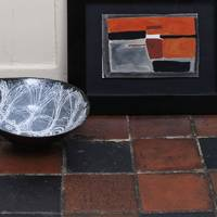 James Tower, 'Black and White Bowl', est.£2,000-3,000 | William Scott, 'Gouache No.8', £10,000–15,000