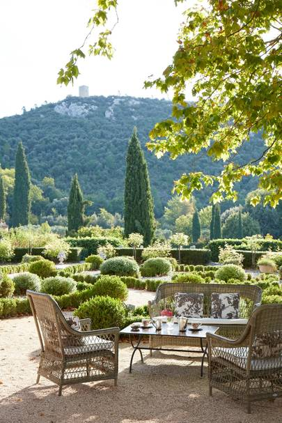 Domaine de la Baume: Outdoor Dining