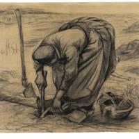 VINCENT VAN GOGH (1853–1890) Planteuse de betteraves